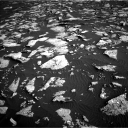 Nasa's Mars rover Curiosity acquired this image using its Left Navigation Camera on Sol 1514, at drive 1878, site number 59