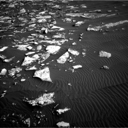 Nasa's Mars rover Curiosity acquired this image using its Left Navigation Camera on Sol 1514, at drive 1908, site number 59
