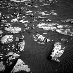 Nasa's Mars rover Curiosity acquired this image using its Left Navigation Camera on Sol 1514, at drive 1962, site number 59