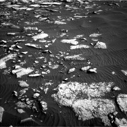 Nasa's Mars rover Curiosity acquired this image using its Left Navigation Camera on Sol 1514, at drive 1980, site number 59