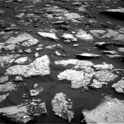 Nasa's Mars rover Curiosity acquired this image using its Right Navigation Camera on Sol 1514, at drive 1692, site number 59