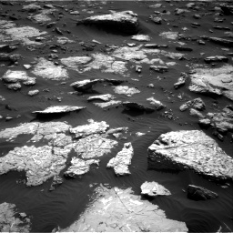 Nasa's Mars rover Curiosity acquired this image using its Right Navigation Camera on Sol 1514, at drive 1698, site number 59