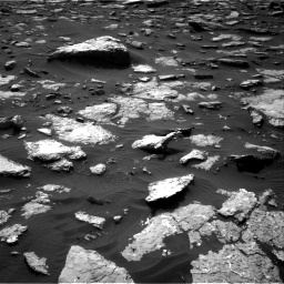 Nasa's Mars rover Curiosity acquired this image using its Right Navigation Camera on Sol 1514, at drive 1728, site number 59