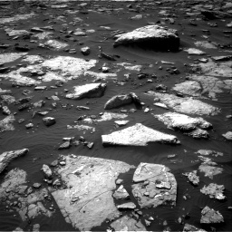 Nasa's Mars rover Curiosity acquired this image using its Right Navigation Camera on Sol 1514, at drive 1740, site number 59