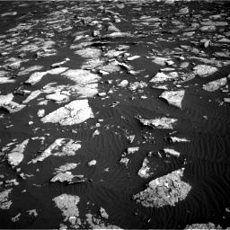 Nasa's Mars rover Curiosity acquired this image using its Right Navigation Camera on Sol 1514, at drive 1878, site number 59