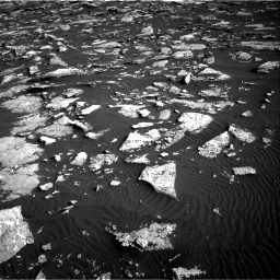 Nasa's Mars rover Curiosity acquired this image using its Right Navigation Camera on Sol 1514, at drive 1902, site number 59