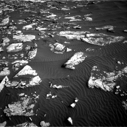 Nasa's Mars rover Curiosity acquired this image using its Right Navigation Camera on Sol 1514, at drive 1938, site number 59
