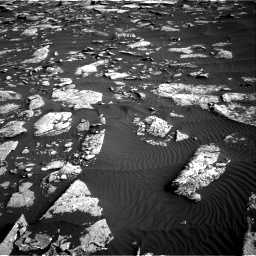 Nasa's Mars rover Curiosity acquired this image using its Right Navigation Camera on Sol 1514, at drive 1950, site number 59