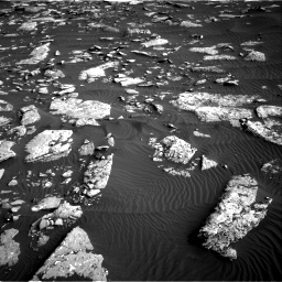 Nasa's Mars rover Curiosity acquired this image using its Right Navigation Camera on Sol 1514, at drive 1956, site number 59