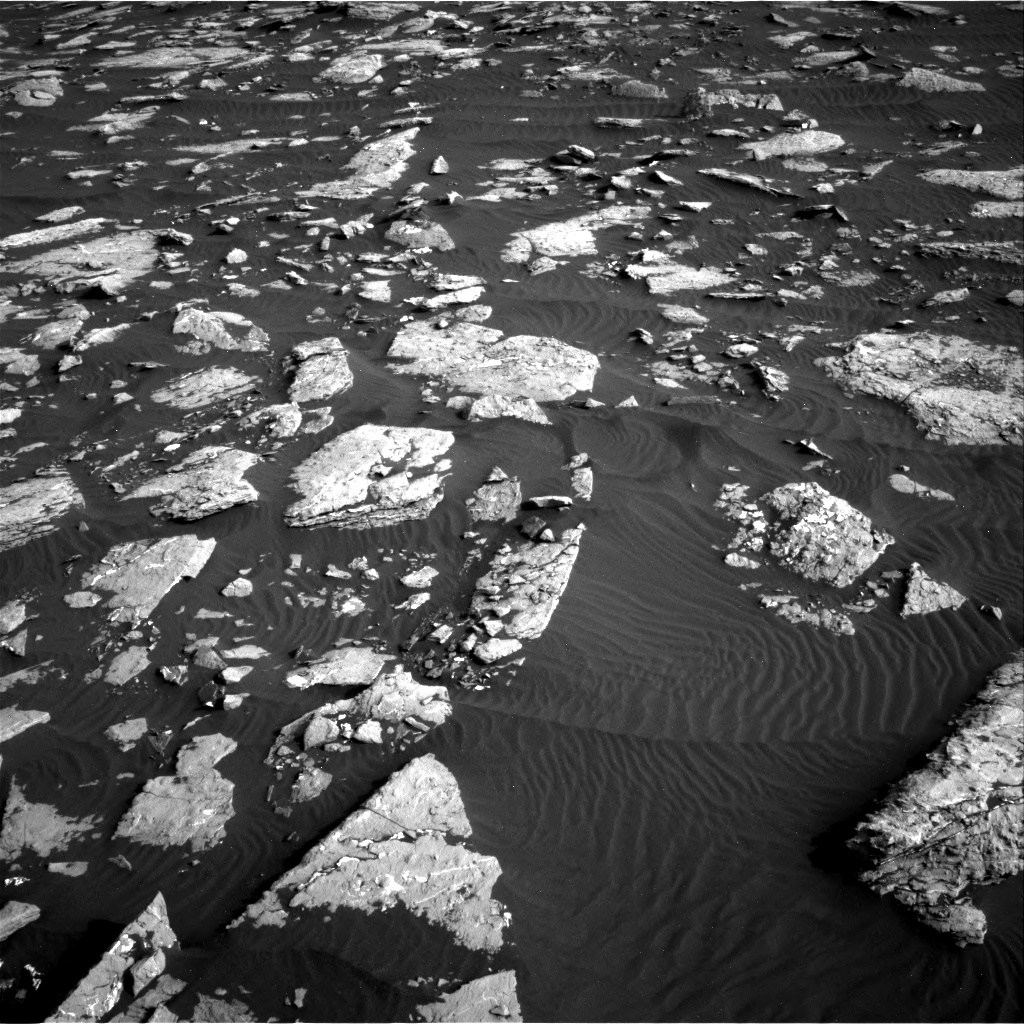Nasa's Mars rover Curiosity acquired this image using its Right Navigation Camera on Sol 1514, at drive 1962, site number 59