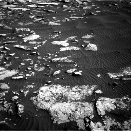 Nasa's Mars rover Curiosity acquired this image using its Right Navigation Camera on Sol 1514, at drive 1980, site number 59