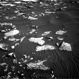 Nasa's Mars rover Curiosity acquired this image using its Right Navigation Camera on Sol 1514, at drive 1992, site number 59
