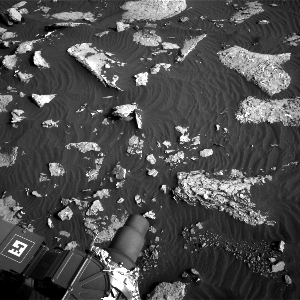 Nasa's Mars rover Curiosity acquired this image using its Right Navigation Camera on Sol 1514, at drive 1998, site number 59