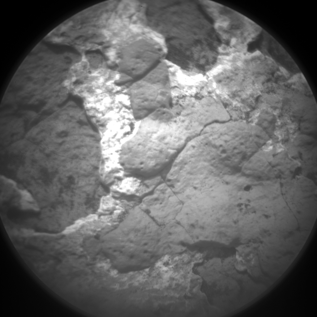 Nasa's Mars rover Curiosity acquired this image using its Chemistry & Camera (ChemCam) on Sol 1516, at drive 1998, site number 59