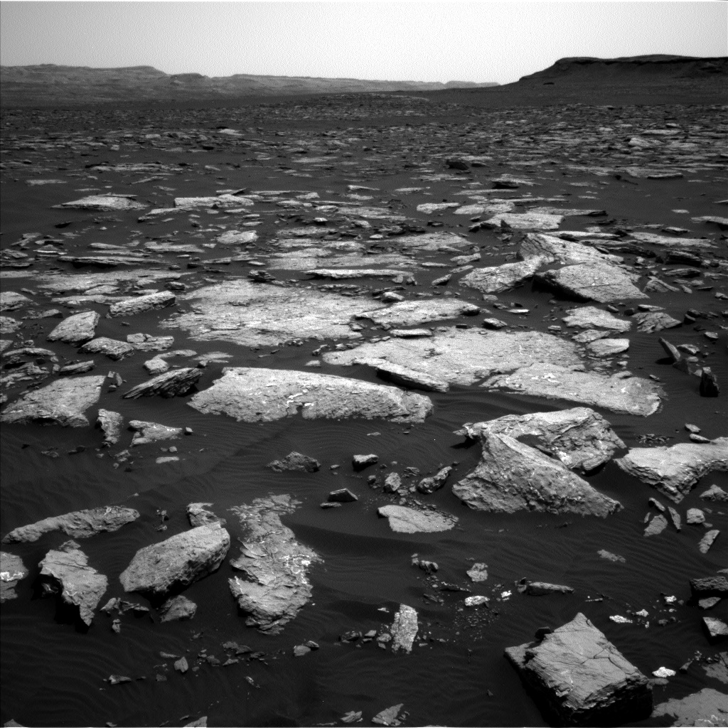 Nasa's Mars rover Curiosity acquired this image using its Left Navigation Camera on Sol 1516, at drive 2242, site number 59