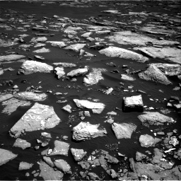 Nasa's Mars rover Curiosity acquired this image using its Right Navigation Camera on Sol 1516, at drive 2214, site number 59