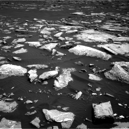 Nasa's Mars rover Curiosity acquired this image using its Right Navigation Camera on Sol 1516, at drive 2226, site number 59