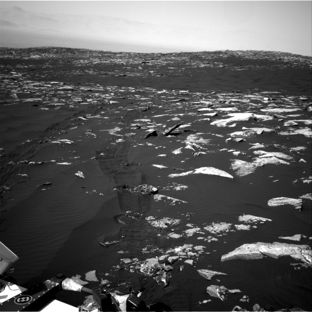 Nasa's Mars rover Curiosity acquired this image using its Right Navigation Camera on Sol 1516, at drive 2242, site number 59