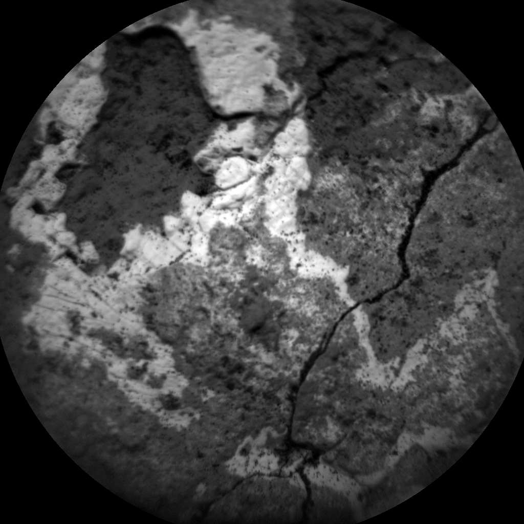 Nasa's Mars rover Curiosity acquired this image using its Chemistry & Camera (ChemCam) on Sol 1518, at drive 2242, site number 59
