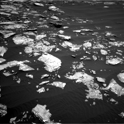 Nasa's Mars rover Curiosity acquired this image using its Left Navigation Camera on Sol 1519, at drive 2296, site number 59