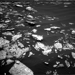 Nasa's Mars rover Curiosity acquired this image using its Left Navigation Camera on Sol 1519, at drive 2308, site number 59