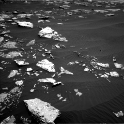 Nasa's Mars rover Curiosity acquired this image using its Left Navigation Camera on Sol 1519, at drive 2332, site number 59