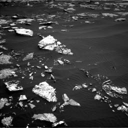 Nasa's Mars rover Curiosity acquired this image using its Left Navigation Camera on Sol 1519, at drive 2338, site number 59
