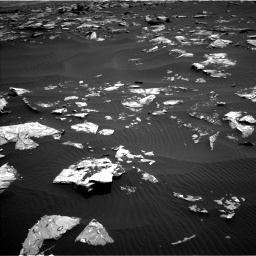 Nasa's Mars rover Curiosity acquired this image using its Left Navigation Camera on Sol 1519, at drive 2386, site number 59