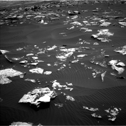 Nasa's Mars rover Curiosity acquired this image using its Left Navigation Camera on Sol 1519, at drive 2392, site number 59