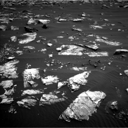 Nasa's Mars rover Curiosity acquired this image using its Left Navigation Camera on Sol 1519, at drive 2470, site number 59