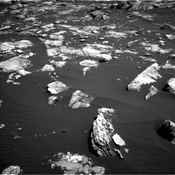 Nasa's Mars rover Curiosity acquired this image using its Left Navigation Camera on Sol 1519, at drive 2530, site number 59