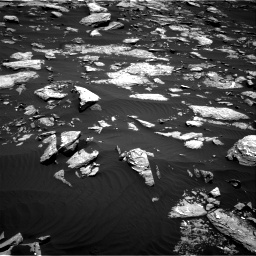 Nasa's Mars rover Curiosity acquired this image using its Right Navigation Camera on Sol 1519, at drive 2242, site number 59