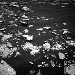Nasa's Mars rover Curiosity acquired this image using its Right Navigation Camera on Sol 1519, at drive 2308, site number 59