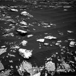Nasa's Mars rover Curiosity acquired this image using its Right Navigation Camera on Sol 1519, at drive 2314, site number 59