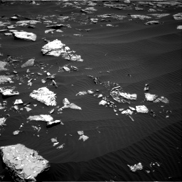 Nasa's Mars rover Curiosity acquired this image using its Right Navigation Camera on Sol 1519, at drive 2332, site number 59