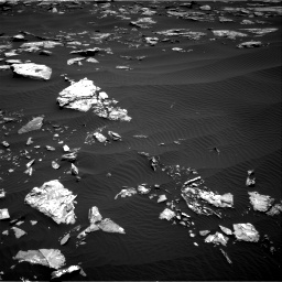 Nasa's Mars rover Curiosity acquired this image using its Right Navigation Camera on Sol 1519, at drive 2338, site number 59