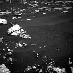 Nasa's Mars rover Curiosity acquired this image using its Right Navigation Camera on Sol 1519, at drive 2344, site number 59