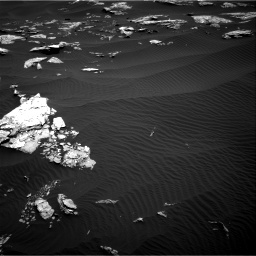 Nasa's Mars rover Curiosity acquired this image using its Right Navigation Camera on Sol 1519, at drive 2350, site number 59