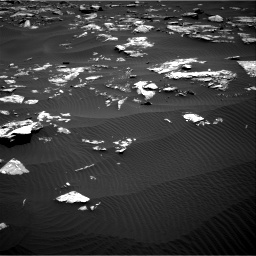 Nasa's Mars rover Curiosity acquired this image using its Right Navigation Camera on Sol 1519, at drive 2374, site number 59