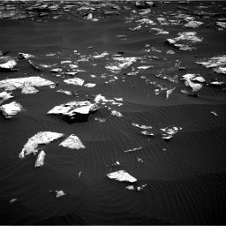 Nasa's Mars rover Curiosity acquired this image using its Right Navigation Camera on Sol 1519, at drive 2380, site number 59