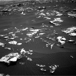 Nasa's Mars rover Curiosity acquired this image using its Right Navigation Camera on Sol 1519, at drive 2392, site number 59
