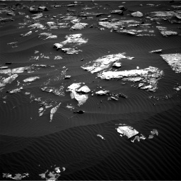 Nasa's Mars rover Curiosity acquired this image using its Right Navigation Camera on Sol 1519, at drive 2404, site number 59