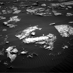Nasa's Mars rover Curiosity acquired this image using its Right Navigation Camera on Sol 1519, at drive 2416, site number 59