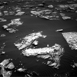 Nasa's Mars rover Curiosity acquired this image using its Right Navigation Camera on Sol 1519, at drive 2428, site number 59