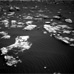 Nasa's Mars rover Curiosity acquired this image using its Right Navigation Camera on Sol 1519, at drive 2452, site number 59