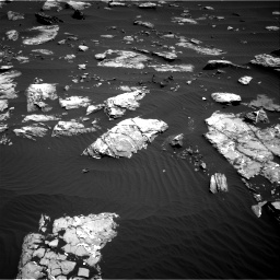 Nasa's Mars rover Curiosity acquired this image using its Right Navigation Camera on Sol 1519, at drive 2464, site number 59