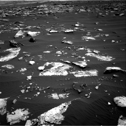 Nasa's Mars rover Curiosity acquired this image using its Right Navigation Camera on Sol 1519, at drive 2476, site number 59