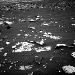 Nasa's Mars rover Curiosity acquired this image using its Right Navigation Camera on Sol 1519, at drive 2482, site number 59