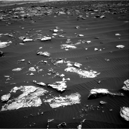 Nasa's Mars rover Curiosity acquired this image using its Right Navigation Camera on Sol 1519, at drive 2488, site number 59