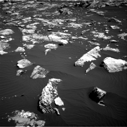Nasa's Mars rover Curiosity acquired this image using its Right Navigation Camera on Sol 1519, at drive 2530, site number 59